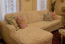 slipcovers/lampshades/reupholstering