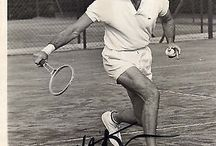 Charlton Heston and his passion Tennis