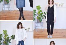 Frühling / Sommer Outfits Inspirationen