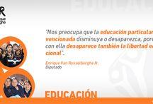 Campaña temática: Educación
