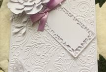 .dry embossing cards