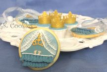Little prince / Cookies and mini cupcakes for a little prince