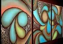 cuadros abstractos textura