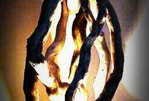 driftwoodart light