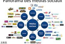 réseaux sociaux  / by AMFE (Association Maladies Foie Enfants)