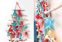 X-Mas DIY - Weihnachten selbermachen / Weihnachtsdeko Inspiration mit Naturmaterialien und schönen, unklassischen Weihnachtsfarben
