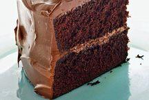 Chocolate cakes / I love chocolate