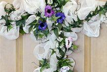 mesh wreathes