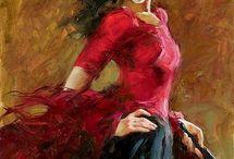 red and woman- kırmızı ve kadın / her kadında kırmızının bir tonu vardır