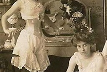 """Victorian Under Pinnings / """"Old Undies"""" / by Arlene Cross"""