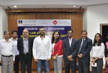 Law and Technology- Independent or Interdependent / Sharda University organized a panel discussion on the ‪‎Law‬ and ‎Technology‬- Independent or Interdependent?