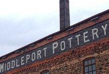 La fabbrica di ceramiche Burleigh di Middleport Pottery (Inghilterra)