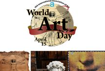 "World Art Day 15 April / The proposal of celebration of World Art Day had brought by Turkey and co-signed by several world delegate countries in 2011.  The World Art Associations' General Assembly accepted that the birthday of Leonardo da Vinci, April 15, becomes ""World Art Day"".  The celebrations started on April 15, 2012 and will hopefully contiunue every year with more ""art awareness"" http://marmassistance.com/"