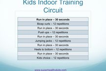 Kids circuit fitness
