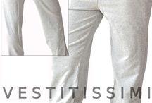 Pantaloni donna sportivi tinta unita / Pantaloni donna tuta sportivi fantasia tinta unita, con tasche e chiusura con laccio