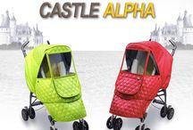 Manito Castle Alpha Stroller Weather Shield / Top of the class stroller weather shield from Manito!