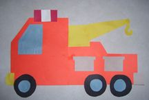 Vehicles craft idea / This page has a lot of free Vehicles craft idea for kids,parents and preschool teachers