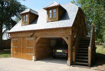 Oak framed garages / Oak garages and other oak framed outbuildings