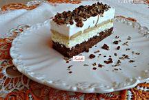 koláče, dorty, zákusky, cukroví