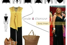 Dressing 'The Inverted Triangle' / by Mary Onyango