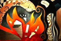 Tükör és tűz / Festészet és más bohóságok