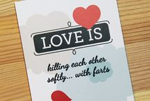 Love is... / Appreciation for the small, but notable gestures!