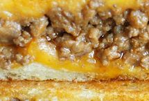Grill Cheese With Beef Mince