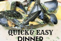Easy Recipes for Busy Families / easy recipes, busy mom, quick recipes, quick family breakfast, fast dinner recipes, stay at home mom recipes, work from home mom recipes, mom recipes, career mom recipes, 10 minute recipes