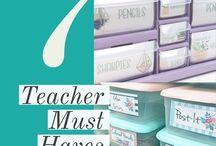 Teacher`s Must haves
