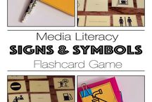 Media Literacy / Resources for teaching media literacy - lesson plans & worksheets for teaching codes and conventions as well as practical filming lessons.