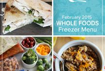 Whole Foods February 2015 Menu / From a citrusy pop in your breakfast to a spicy finish at dinnertime our Whole Foods February 2015 Menu keeps your tastebuds piqued with this batch of delicious winter meals. / by Once A Month Meals