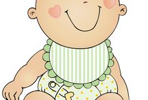 Baby clipart / Baby clipart