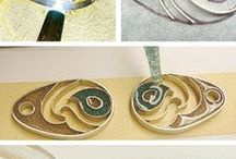 jewellery with resin