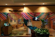 the californian restaurant / dinner in tandoori theme in Dusit Thani Dubai