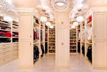 Closets~Dressing Rooms   / by Trish Rosato