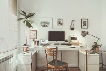 Work space inspiration / about interior design ideas and inspiring pictures