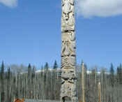 Totemic / Totem poles, and anything which evokes a totem pole.