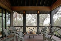 Screened porch @cottage