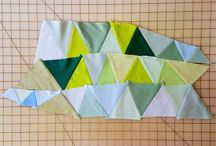 Quilt - Triangles and Zig Zags