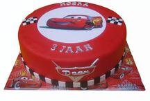 Verjaardags taart Cars