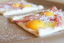 Frokost / Butterdeig m/egg og bacon