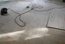 Plywood floor