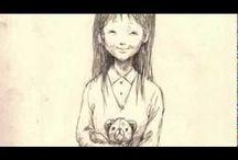 絵本「おじいちゃん、おばあちゃん、ありがとう」の原画 / 祖母、祖父にありがとうを伝える絵本のためのイラストhttp://www.kinende.com/shopdetail/031000000001/