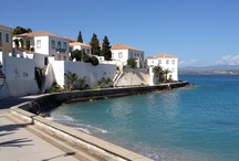 Amazing places in Greece Saronic Islands.