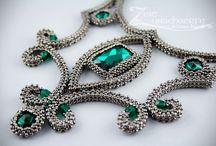 Craw beaded jewelry