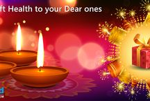 A Gift of Health & Wealth /  eHealthCard wish you all a very #HappyDiwali. Give your dear ones a gift of maintaining a real wealth & its records. To know more about it kindly please visit our website http://bit.ly/1BKuFC0