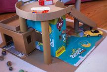 Think Outside the Box / clever reuses & upcycles and cardboard art