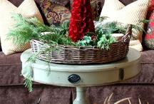 Christmas table / Christmas table decorations