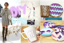 Easy DIY Handmade Gifts / Easy DIY gift ideas that people actually want! Whether it's for mom, a boyfriend, a friend, or your favourite teacher, these homemade gifts are all easy enough for anyone to do. A handmade gift is always better than something you can buy at the store!