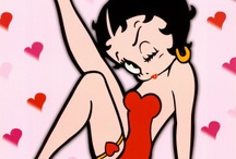 Betty Boop ~ ♬♩Boop-Oop-a-Doop♩♬ / With her overt sexuality, Betty was an instant hit. Despite being 'toned-down' in the 1930s, She remains popular for her pre-code portrayal of female sexuality.